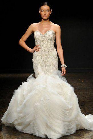 19 besten Lazaro wedding gowns Bilder auf Pinterest ...