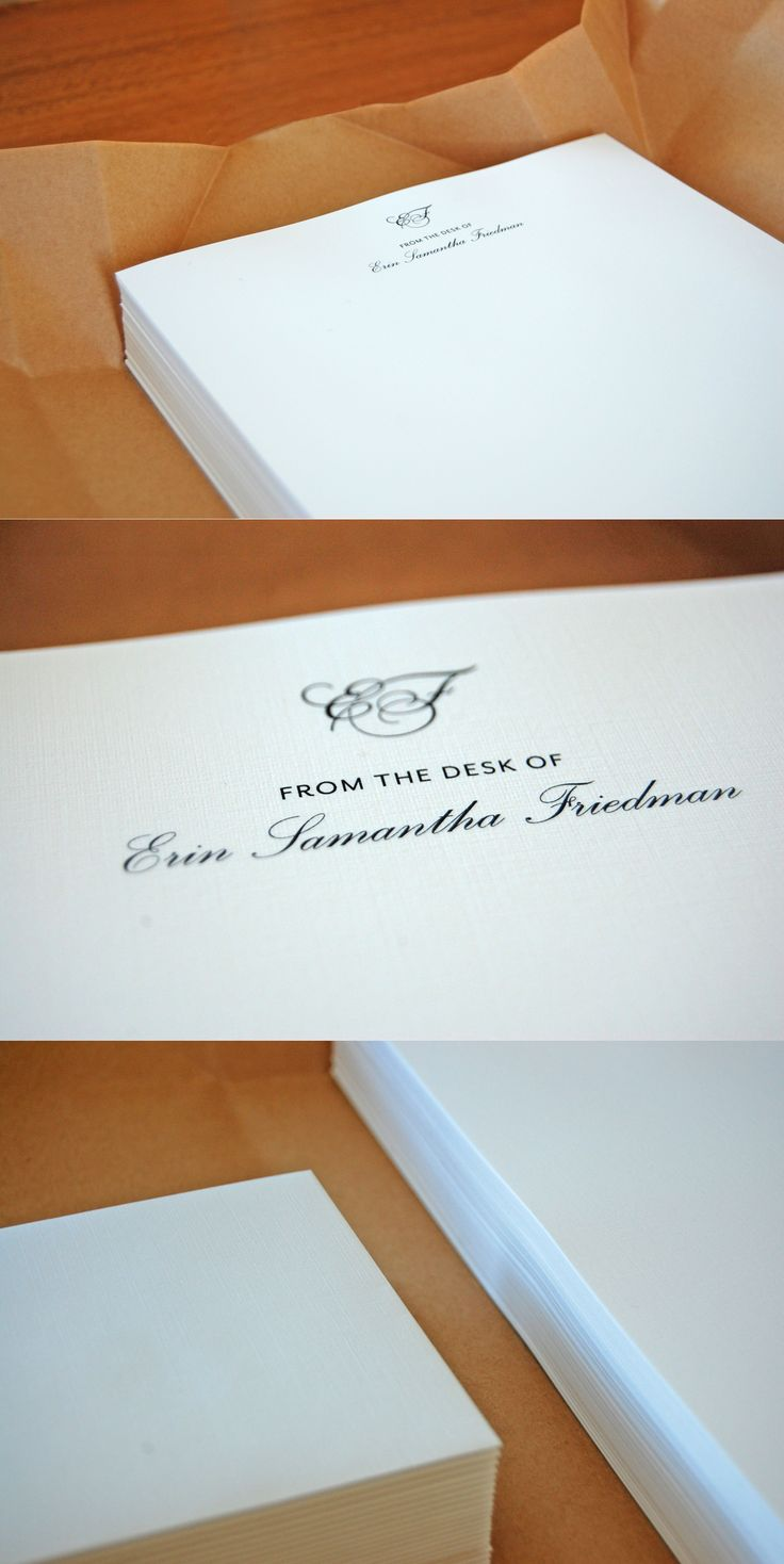 My client wanted to give a unique and personalised gift for his sister's birthday. His brief was to design letterheads similar to what Audrey Hepburn would have used. This idea was captured in the simplicity of the design, the elegant and the timeless monogram printed on beautiful linen paper with matching envelopes to accompany. #branding #typography #monogram #letterheads #audreyhepburn #timeless