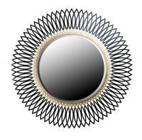 """Зеркало ZZIBO GOLD черный с золотом 176: Где купить Зеркало ZZIBO GOLD черный с золотом 176 по выгодной цене в Москве? Фото, обзор, отзывы, стоимость, характеристики, описание Зеркало ZZIBO GOLD черный с золотом 176. Заказать доставку Зеркало ZZIBO GOLD черный с золотом 176 в интернет магазине мебели из сосны """"Эко-Дом""""."""