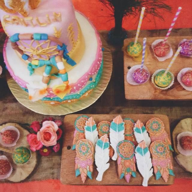 Caitlin S Coachella Themed Party Sweet Treats