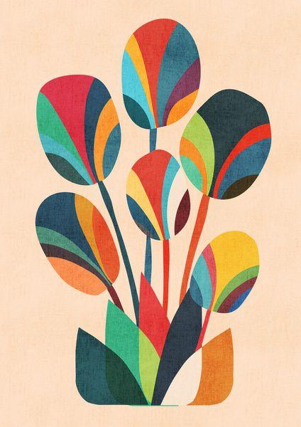 Ikebana - Geometric flower by Budi Satria Kwan