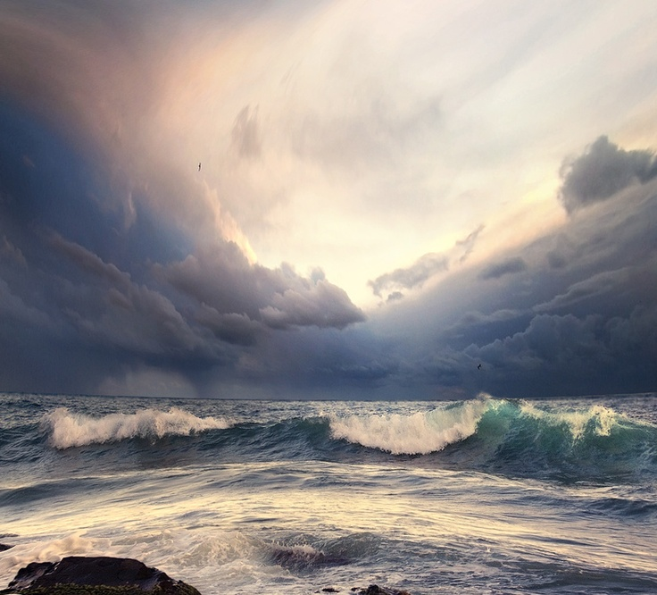 Best NATURE INSPIRATION Images On Pinterest Beautiful Places - Beautiful photographs of storm clouds look like rolling ocean waves