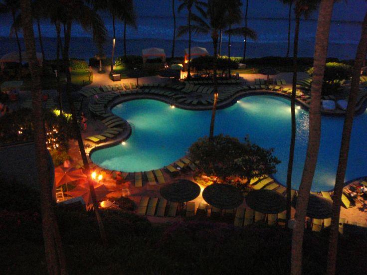 Late night swim?