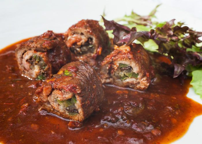 Bistec Enrollado (Beef Roulade)