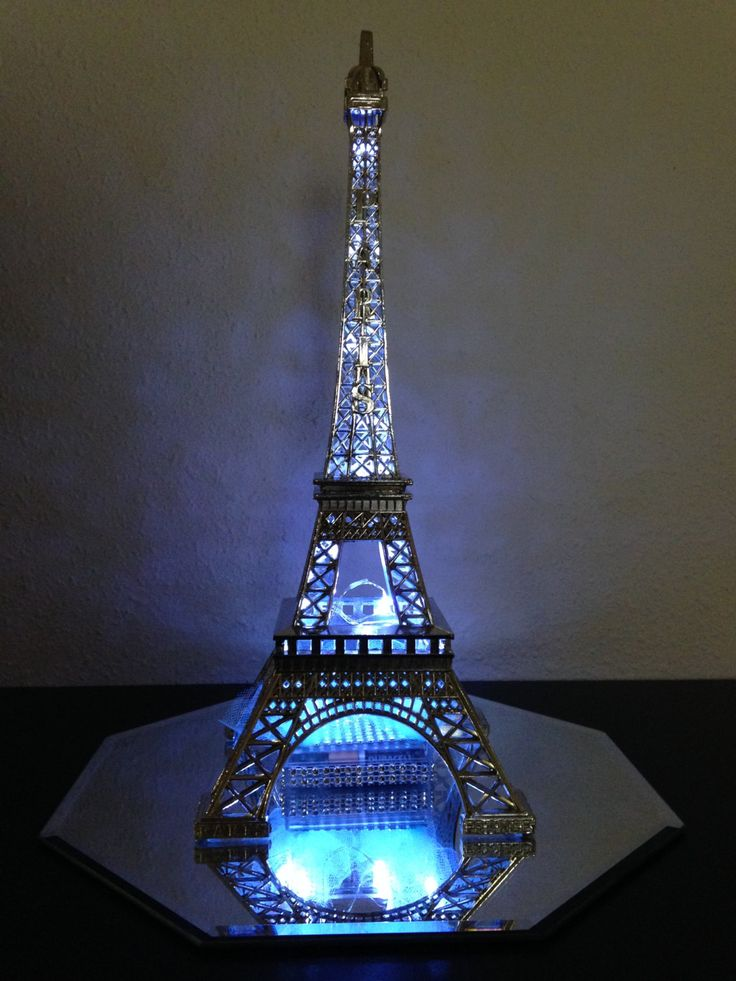 Paris Centerpiece LIght Up Eiffel Tower by ItsMy15Party on Etsy, $30.00