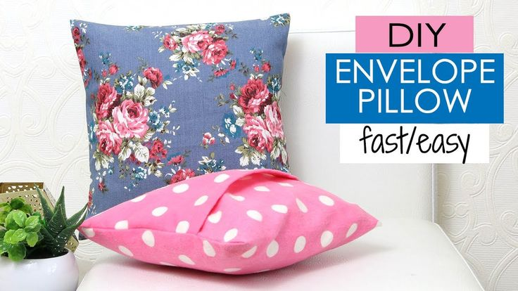 Diy Easy Pillow Envelope Style Width Insert X 2 15