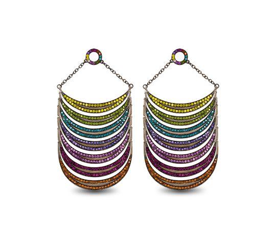 Black Rainbows earrings