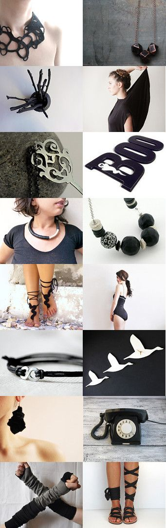 Awesome Black!!! by Maria on Etsy--Pinned with TreasuryPin.com