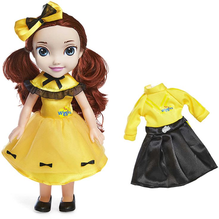 The Wiggles 30cm Emma Ballerina Dress Up Doll comes dressed in her signature yellow Wiggles outfit and with interchangeable ballerina outfit. $39