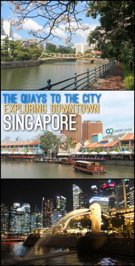 A walking tour of Downtown Singapore, including a stroll through the Quays (Clarke Quay, Boat Quay and Robertson Quay) as well as some of Singapore's top tourist sights and historic architecture.