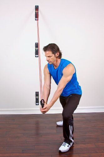 Amusing resistance band home gym foto idea