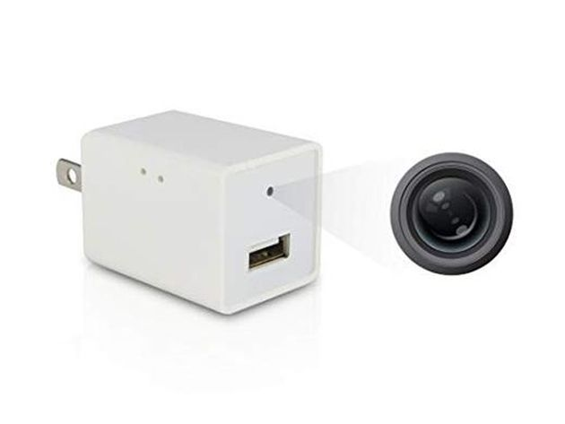 Usb Wall Charger With Hidden Camera 32gb Sd Card For 59 Deal Offer Amazing Tech Deals