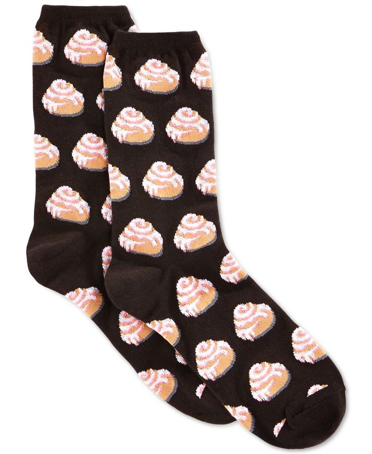 Hot Sox Women's Cinnamon Roll Socks