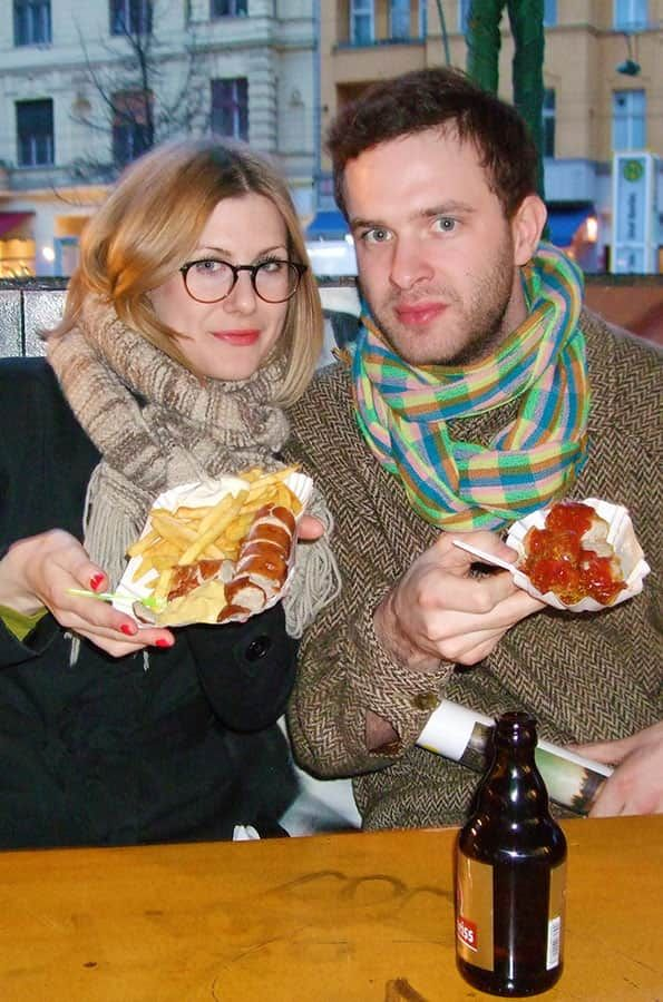 Currywurst är ett måste i Berlin!