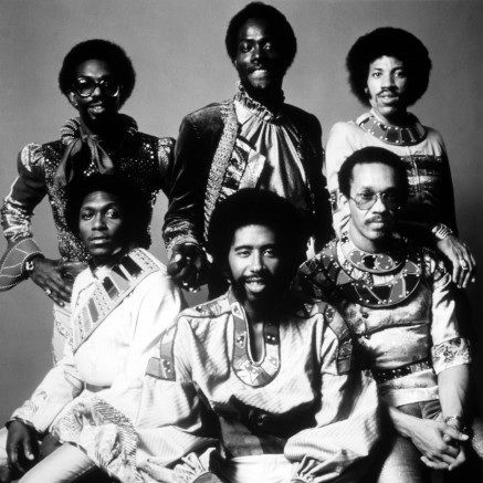 The Commodores - Walter Orange, William King, Milan Williams, Thomas McClary, Ronald LaPread and Lionel Richie