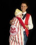 Popcorn Baby Homemade Costume