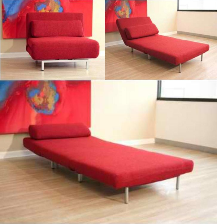 Convertible Sofa Chair Bed Home Furniture Pinterest And