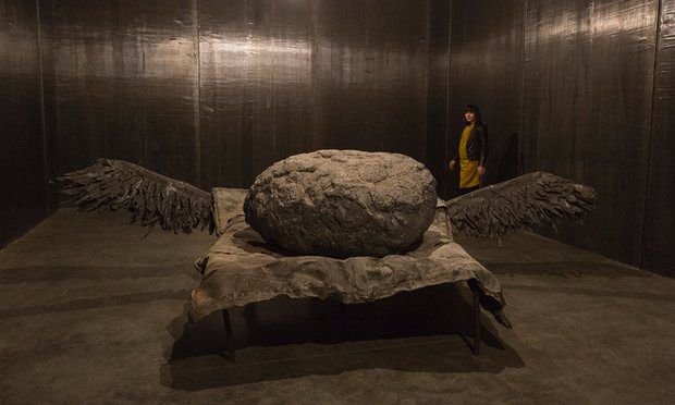 The tomb of nationalist folly … Anselm Kiefer at White Cube Bermondsey, London.