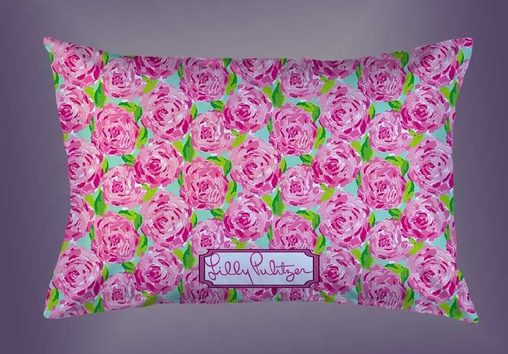 "Pink Roses Lilly Pulitzer Custom Pillow Case 16""x24"" Limited Edition #Unbranded #pillowcase #pillowcover #cushioncase #cushioncover #best #new #trending #rare #hot #cheap #bestselling #bestquality #home #decor #bed #bedding #polyester #fashion #style #elegant #awesome #luxury #custom #lillypulitzer #roses #pink #floral"