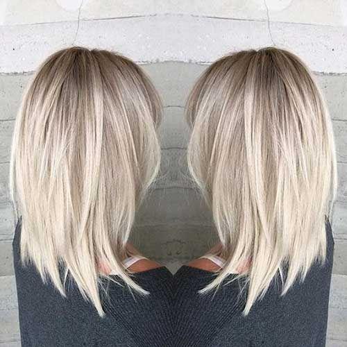 2018 Mittlere Frisuren für Frauen   - HAIR - #frauen #Frisuren #für #Hair #mittlere