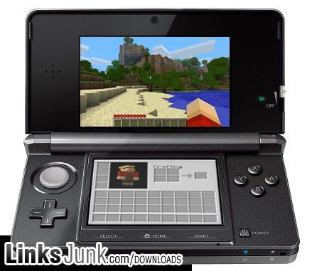 Download Minecraft 3DS rom