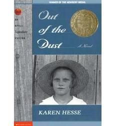 the struggles during the dust bowl in out of the dust a novel by karen hesse Set in oklahoma during the dust bowl, this is the story of 14 year old billie jo told in diary form as a series of free-verse poems, the book is a realistic portrait of the depression-era with entries dated from the winter of 1934 through the winter of 1935 readers explore the hardships of living .
