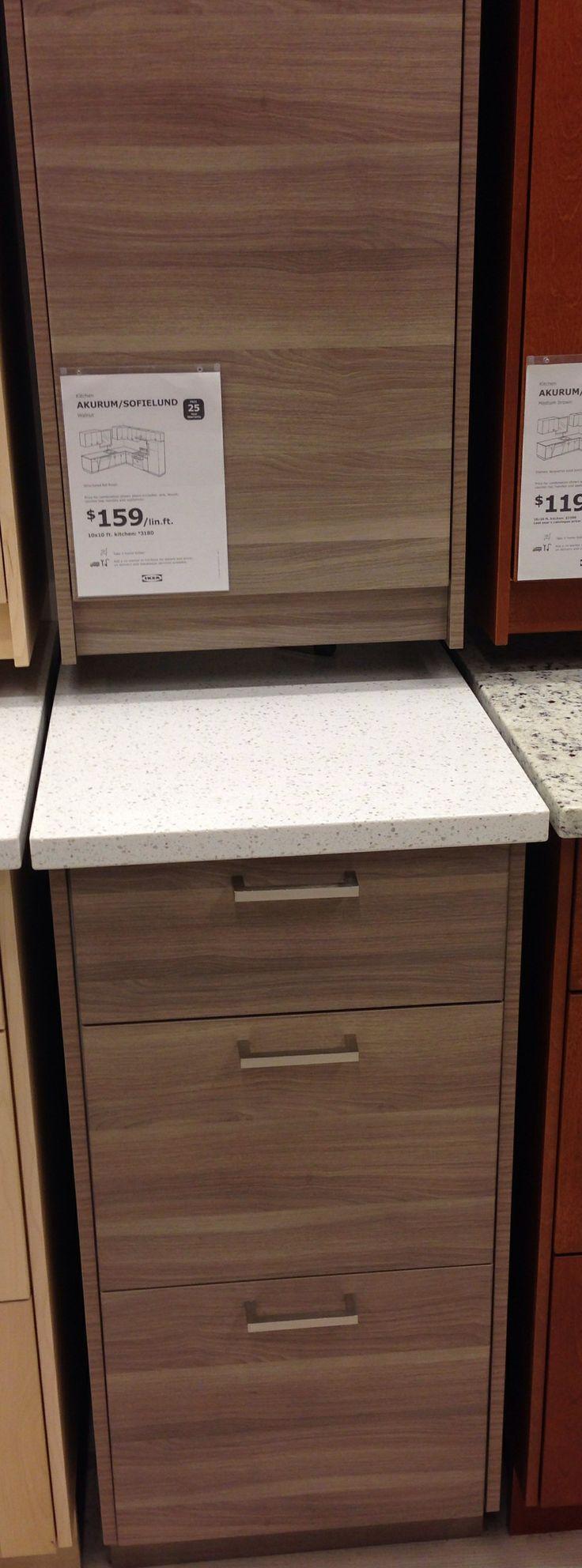 Ikea Walnut Cabinets Mission Kitchen Pinterest Cabinets Ikea And Walnut Cabinets