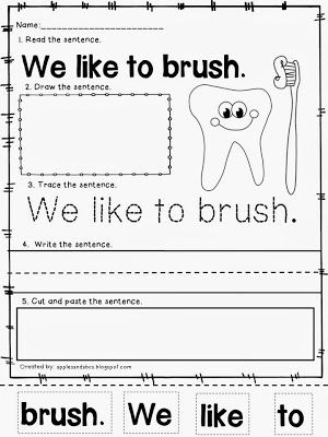 Number Names Worksheets dental health printables : 1000+ images about Theme: Dental Health on Pinterest