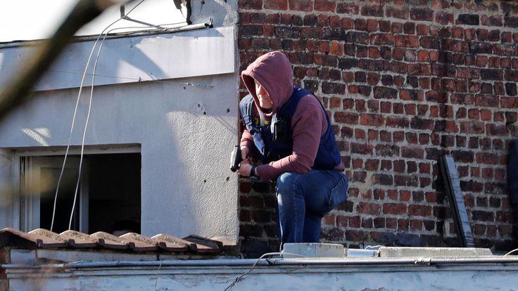 ICYMI: Belgian police 'respond to gunmen' in Brussels - Sky News