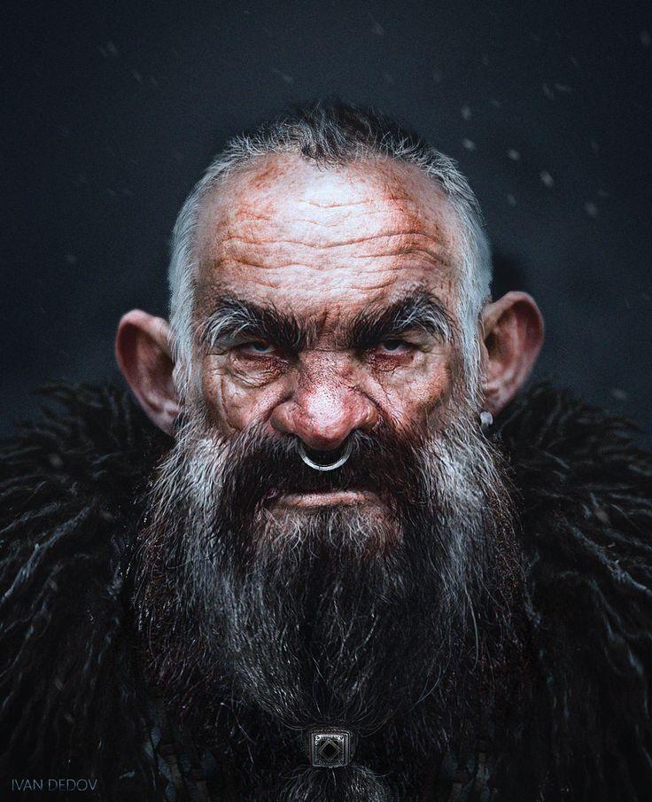 ArtStation - Snow Dwarves, Ivan Dedov