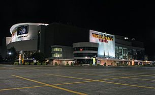 Philadelphia, PA - Wells Fargo Center - home of the Philadelphia Flyers (NHL), Philadelphia Soul (AFL), & Philadelphia 76ers (NBA)