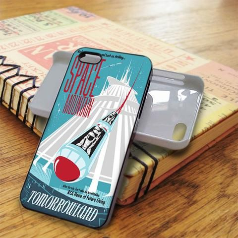 Space Mountain iPhone 5C Case