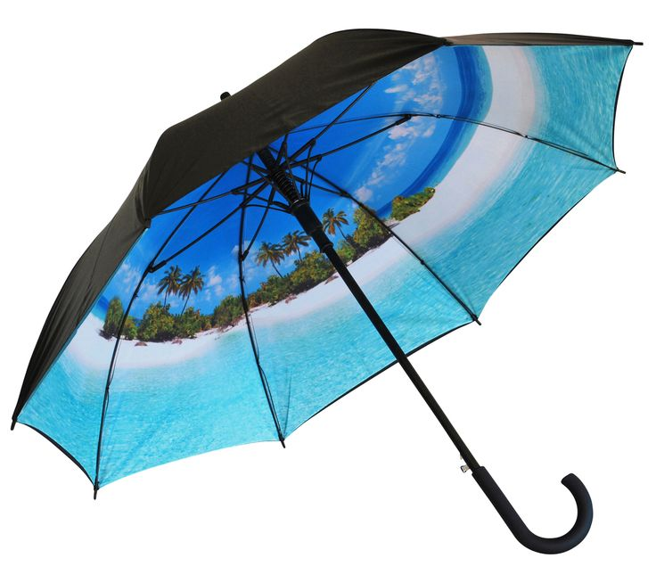 'Life's a Beach' Classic Umbrella | Where I'd Rather Be | http://www.whereidratherbe.co.uk/products/lifes-a-beach-classic-umbrella