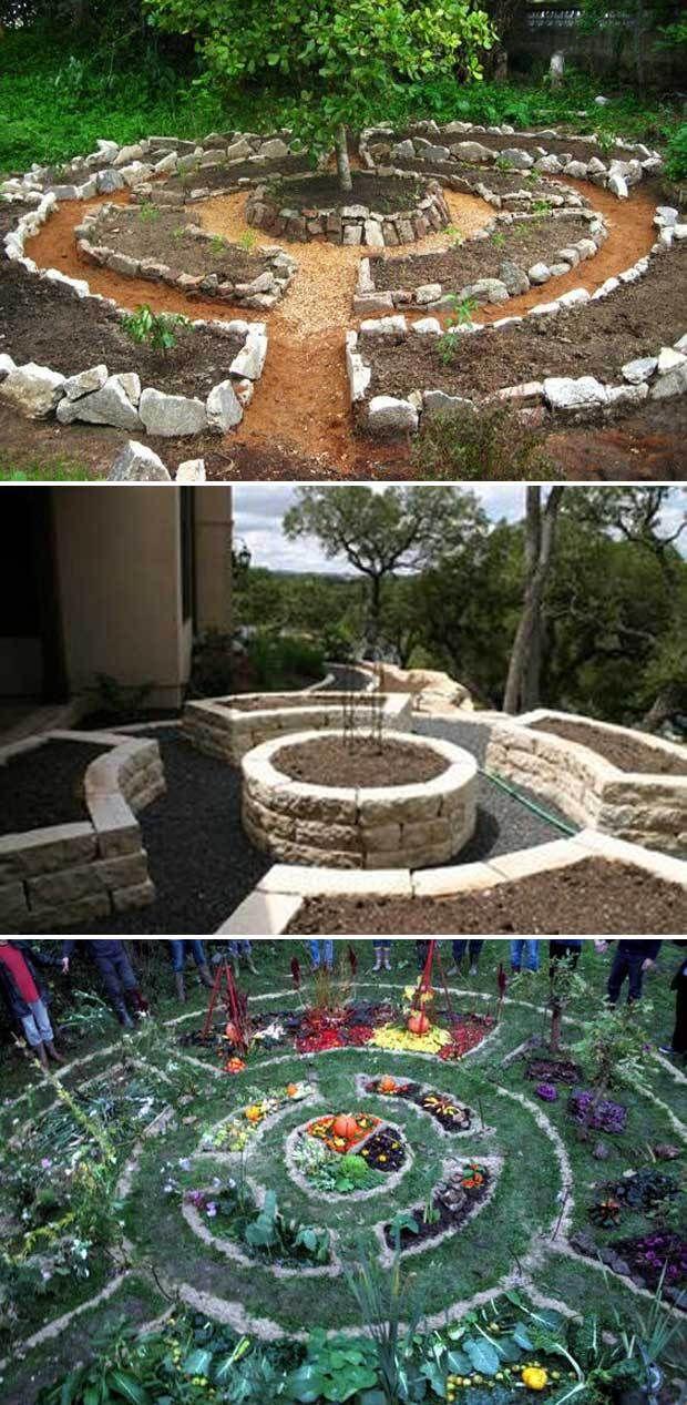 Circular Garden Bed Cool Round Garden Bed Ideas For Landscape Design Farmfoodfamily Com Garden Beds Building A Raised Garden Backyard Landscaping Designs