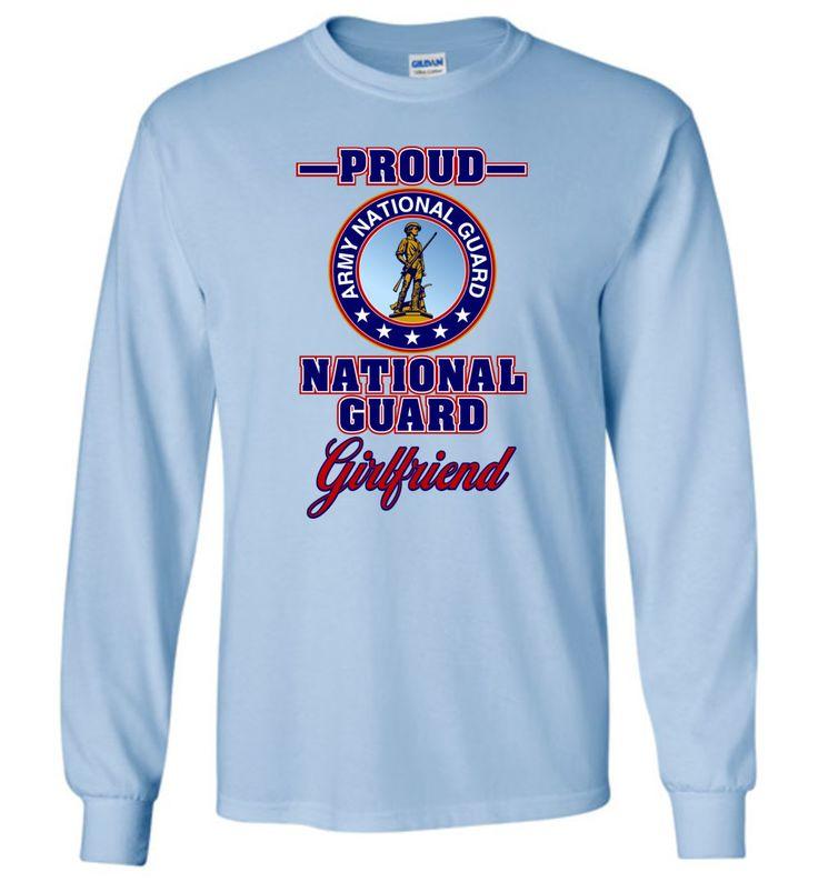 Proud U.S. Army National Guard Girlfriend Long-Sleeve T-Shirt