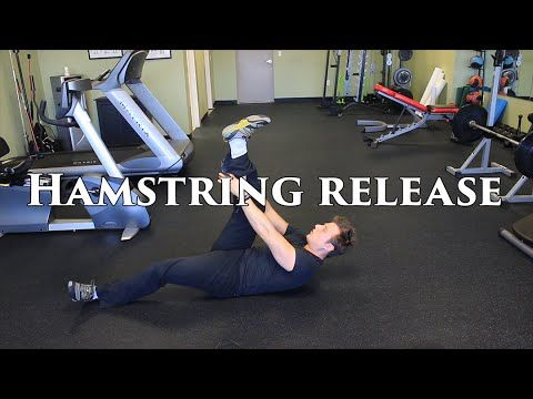 The BEST Way To Release Tight Hamstrings | Hamstring Stretching & Myofascial Release | GuerrillaZen Fitness