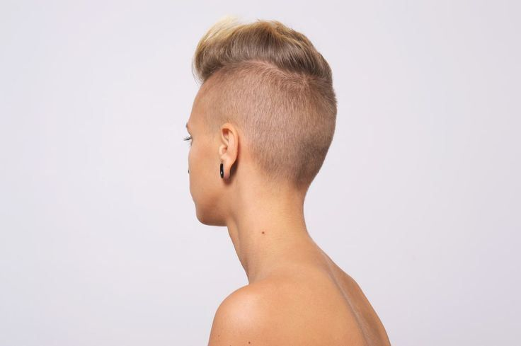 female mohawk hairstyle picture
