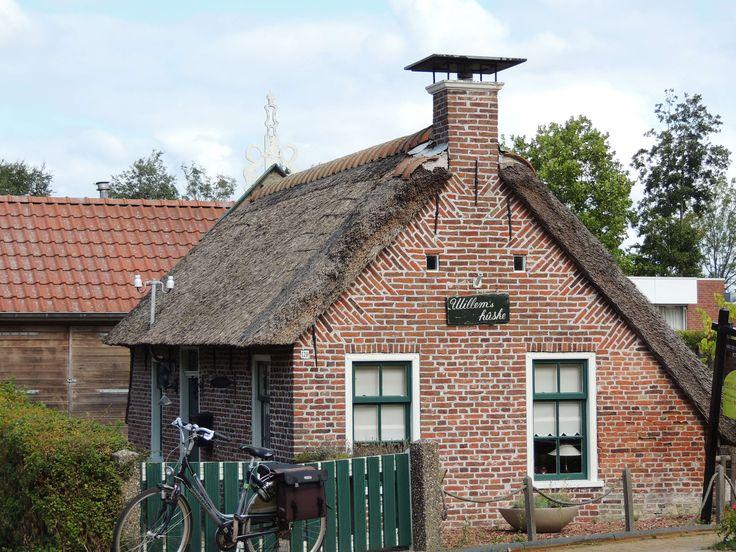 Even op bezoek bij Willem in Kollemerzwaag.Friesland