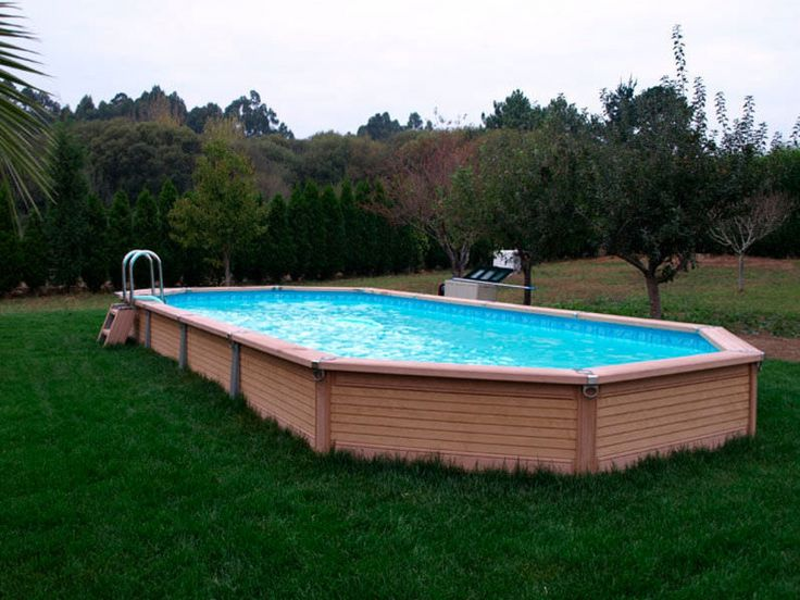 best 25 rectangle above ground pool ideas on pinterest above ground pool cost cheap above. Black Bedroom Furniture Sets. Home Design Ideas