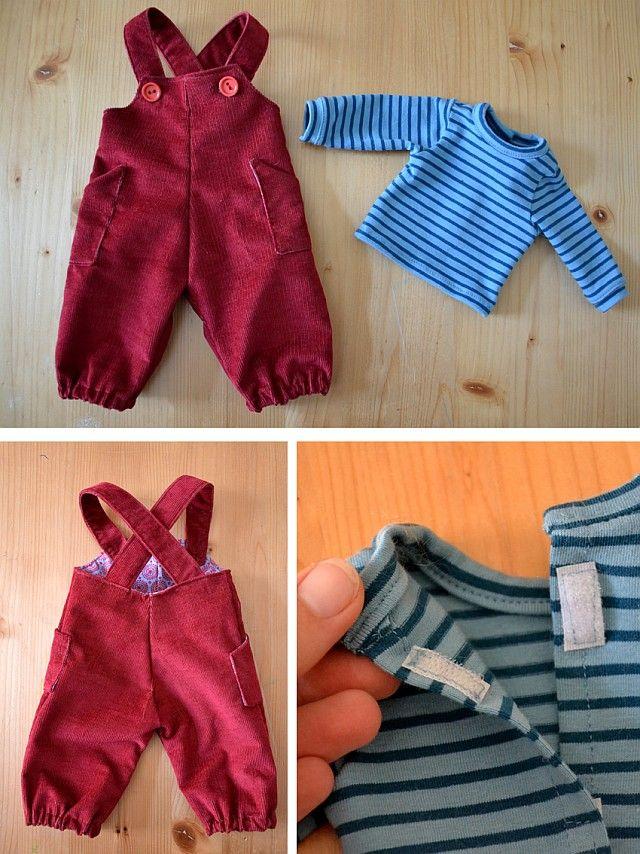 128 besten Puppenkleidung Bilder auf Pinterest | Waldorfpuppen ...