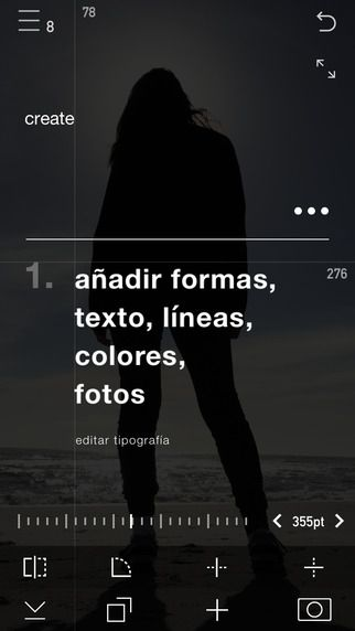 AppsUser: Create, aplicación gratuita de diseño para dispositivos basados en iOS