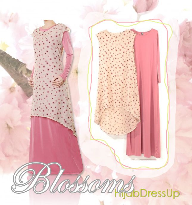 HIjab Dress Up # Style # Blossoms