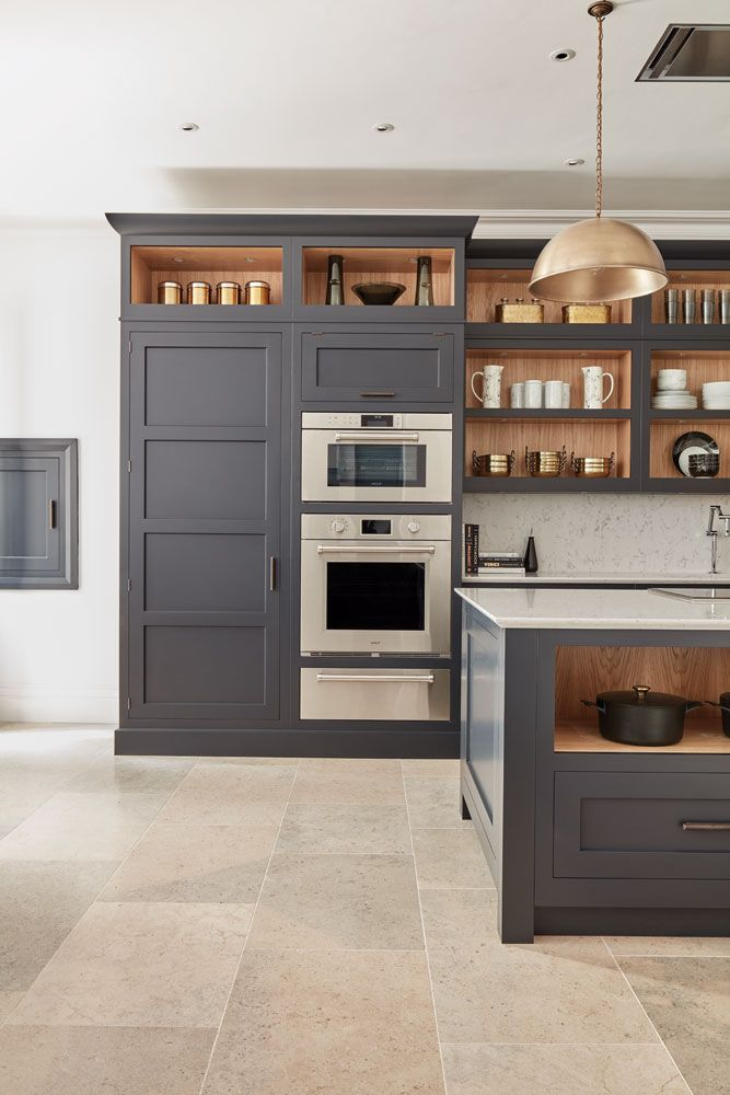 Best Dark Grey Shaker Style Kitchen In 2020 Shaker Style 640 x 480