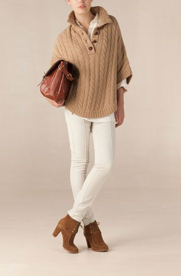 Winter outfit @Massimo dutti    Gonna make something like this work!   I miss my Miami white pants all day every day!