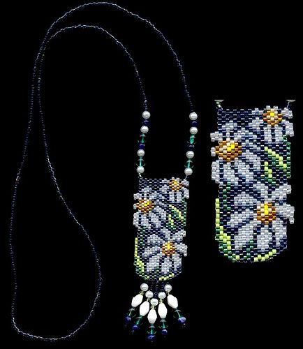 Daisy Beaded Necklace | Flickr - Photo Sharing!