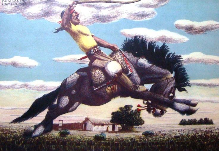 Pintura de Molina Campos