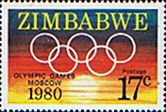 Zimbabwe 1980 Olympic Games Fine Mint SG 591/4 Scott 429/32 Other Zimbabwe Stamps HERE