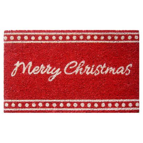 25 Unique Christmas Doormat Ideas On Pinterest