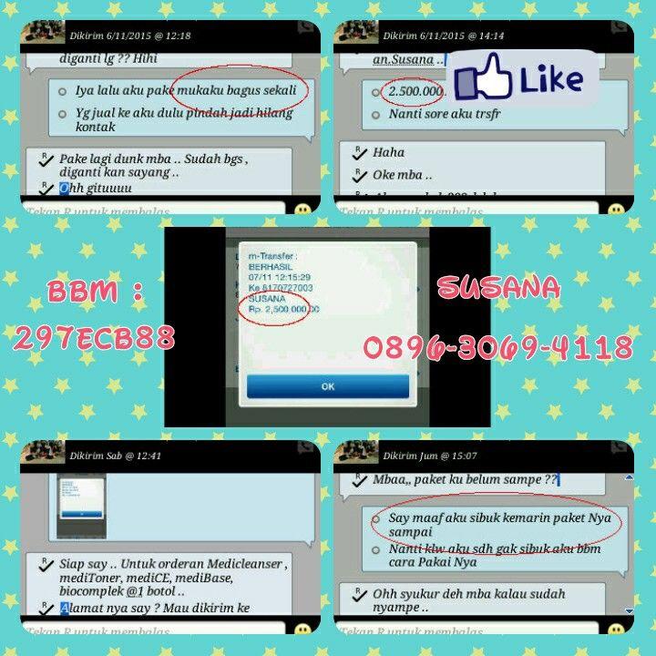 Info Pemesanan mediBeauty BBM : 297ECB88 SMS / WA : 0896-3069-4118