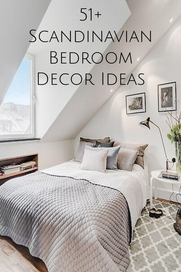 51 Scandinavian Stylish Bedroom Decor Ideas Scandinavian Bedroom Decor Stylish Bedroom Decor Bedroom Decor